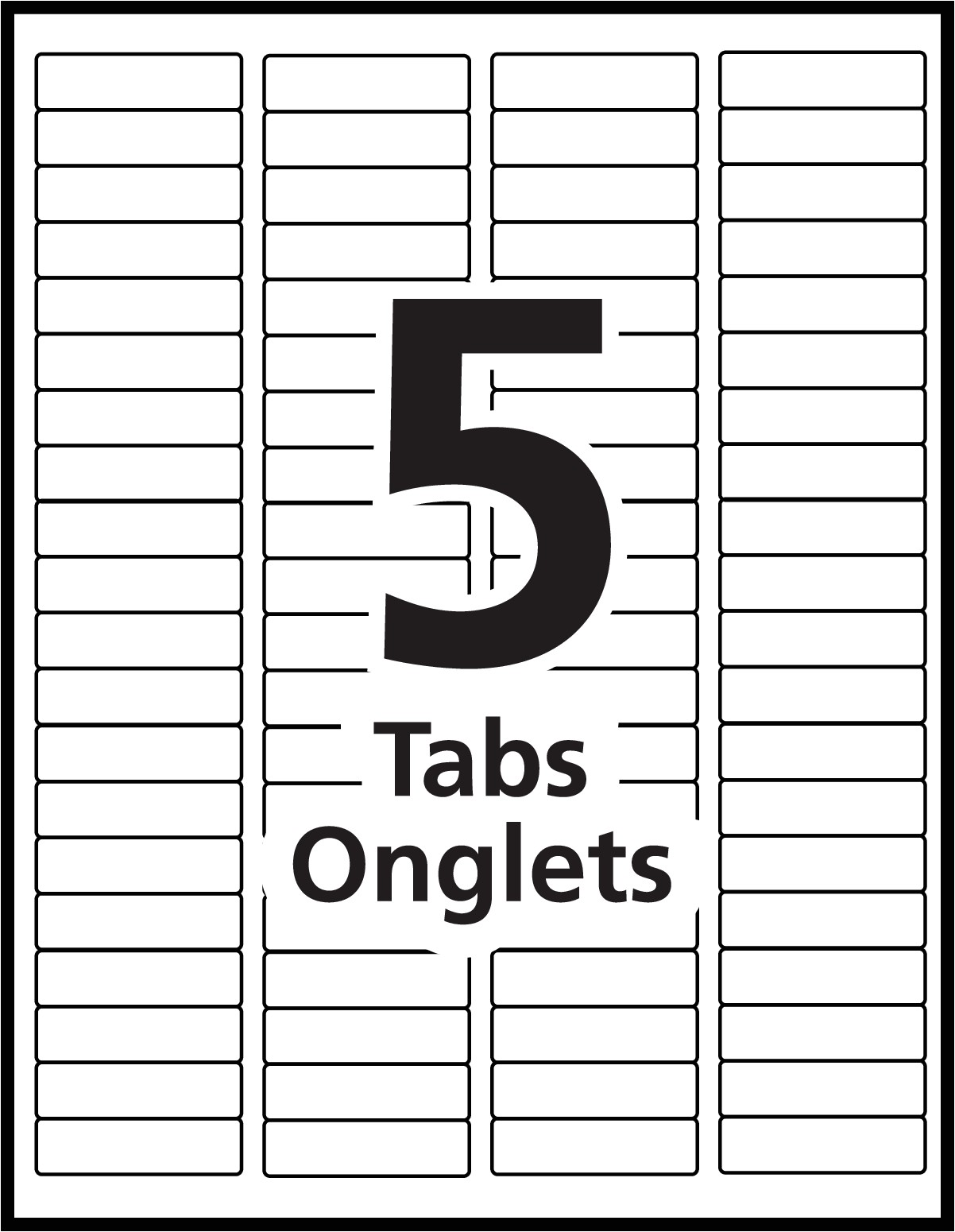 Avery Index Template 8 Tab Index Maker Dividers Templates Avery