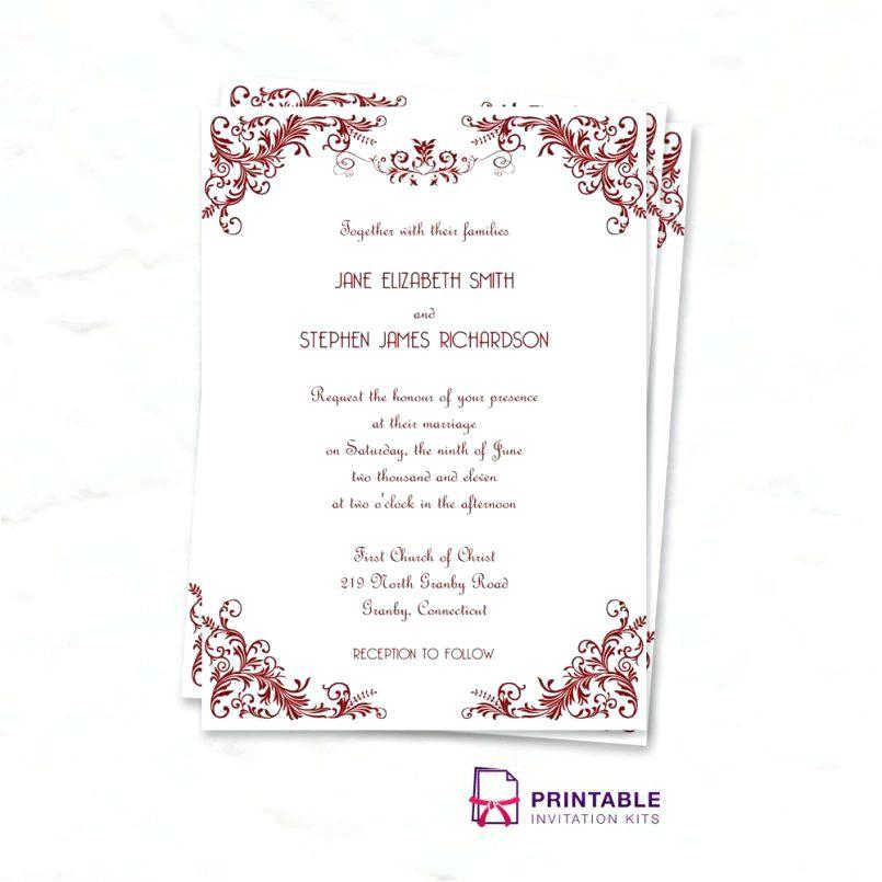 invitation templates avery