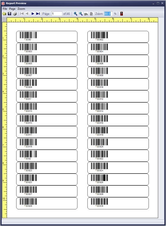 Avery Label Template 5066 Handy Library Manager Tutorial Evaluate Barcode Label