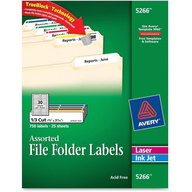 ave5266 avery 5266 filing label