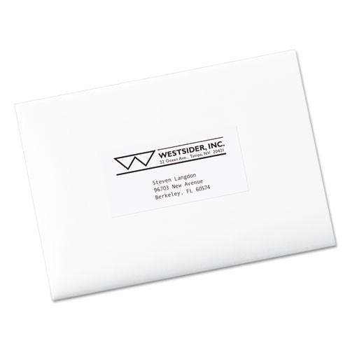Avery Label Template 5352 Avery 5352 Copier Mailing Labels 2 X 4 1 4 White 1000