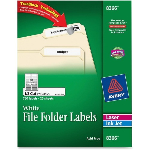 Avery Label Template 8366 Avery Filing Label Ave8366 Shoplet Com