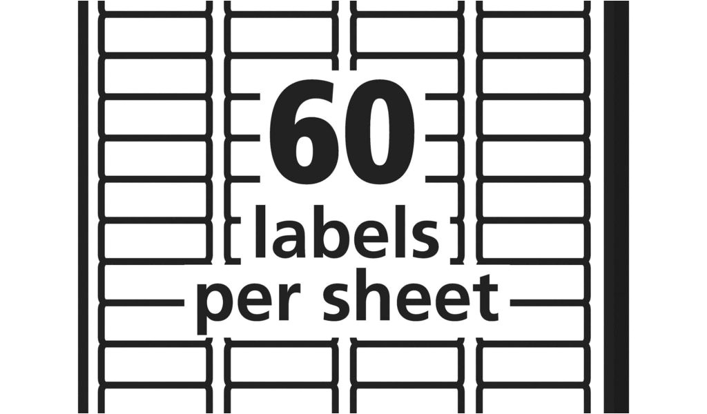 Avery Labels 10 Per Sheet Template Avery 60 Labels Per Sheet Template Pccatlantic