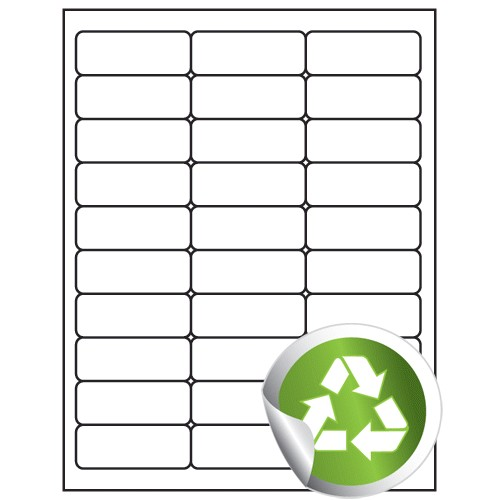Avery Labels 5160 Template Blank Label Supply Hut