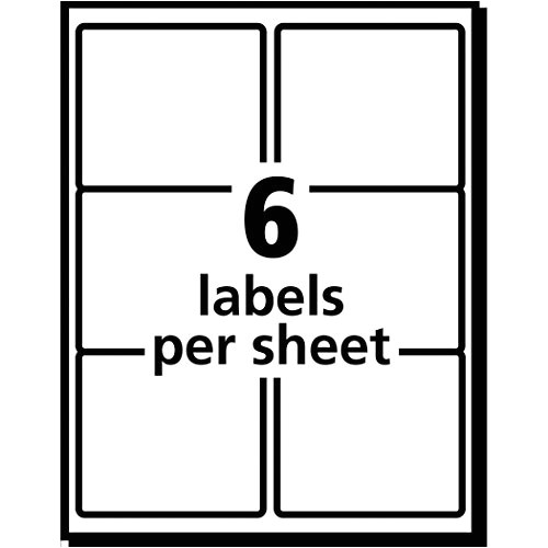 Avery Labels 5264 Template Avery White Shipping Labels for Laser Printers with