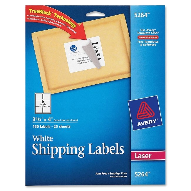 avery 5264 easy peel mailing label 2674354 prd1
