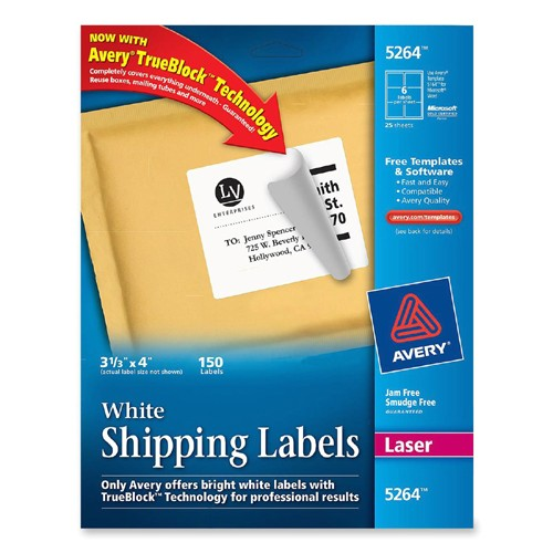 mailing label ave5264 2171628 prd1