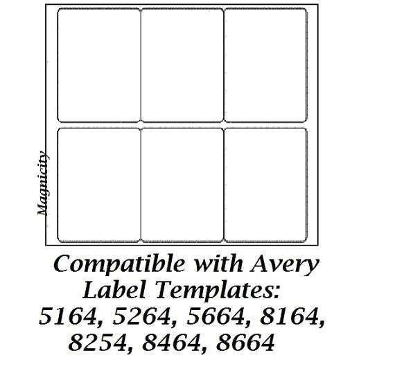 Avery Labels 6 Per Page Template Avery Template Latter Day Photoshots Shipping Labels 3 1 4