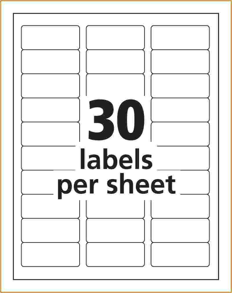 Avery Labels Free Templates Free Avery Template 5160 Divorce Document