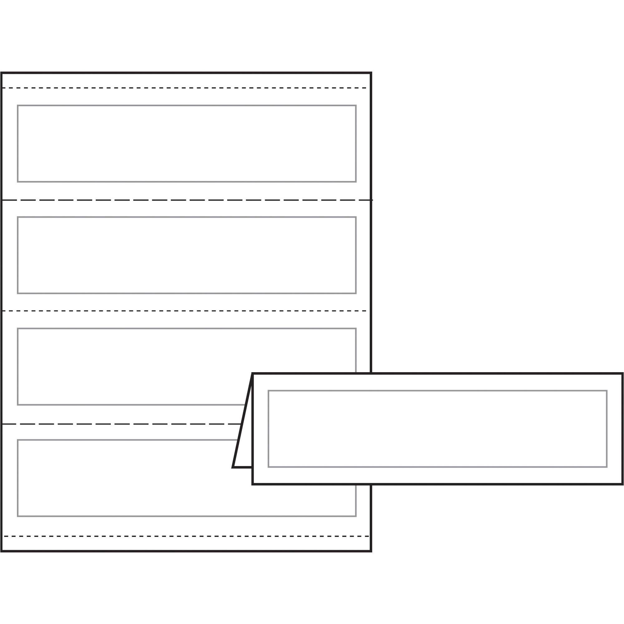 avery laser inkjet print tent card ave5305