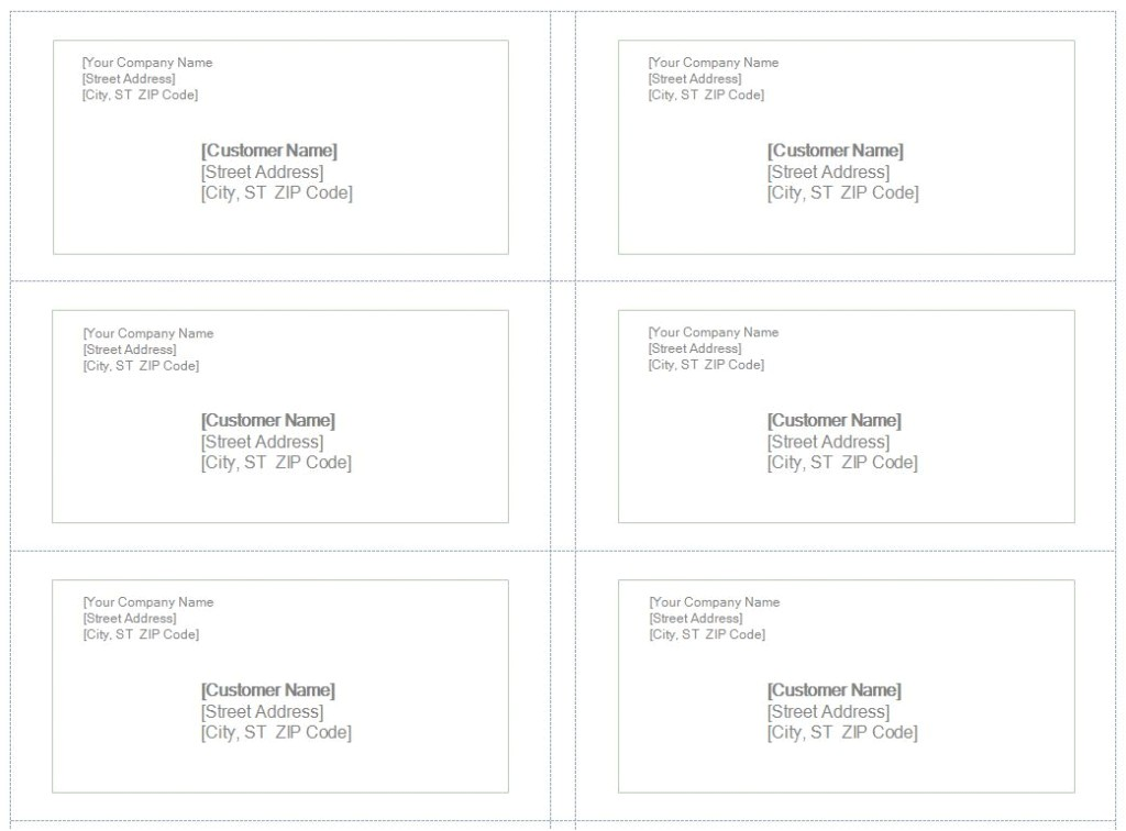Avery Name Badge Template 6 Per Sheet 6 Avery Templates Indesign Images Avery Blank Label