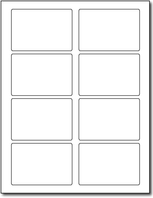 label template 8 per page 1274