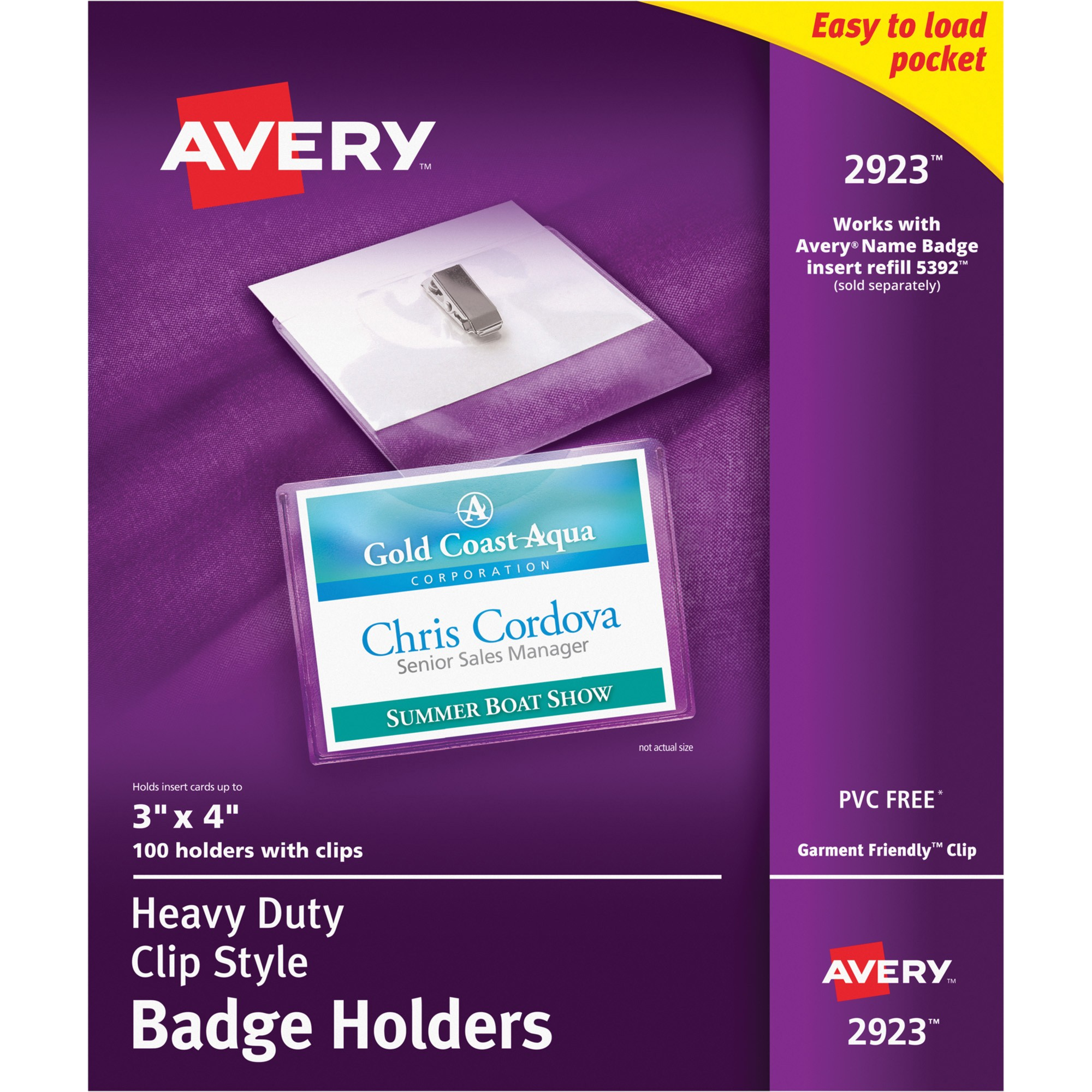 Avery Photo Id Badge Templates Avery Photo Id Badge Holder