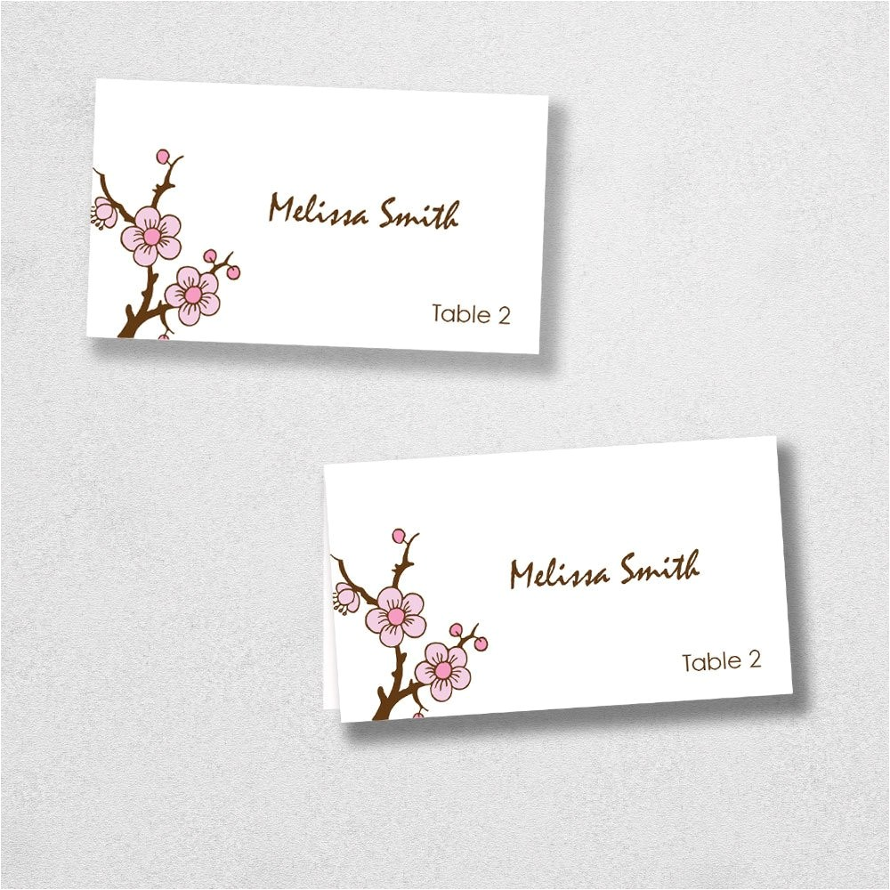 Avery Place Card Template for Mac Avery Place Card Template Instant Download Escort Card