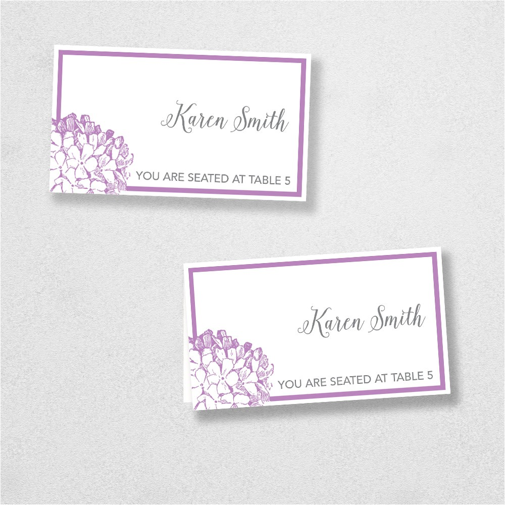 Avery Place Card Templates Avery Place Card Template Instant Download Escort Card