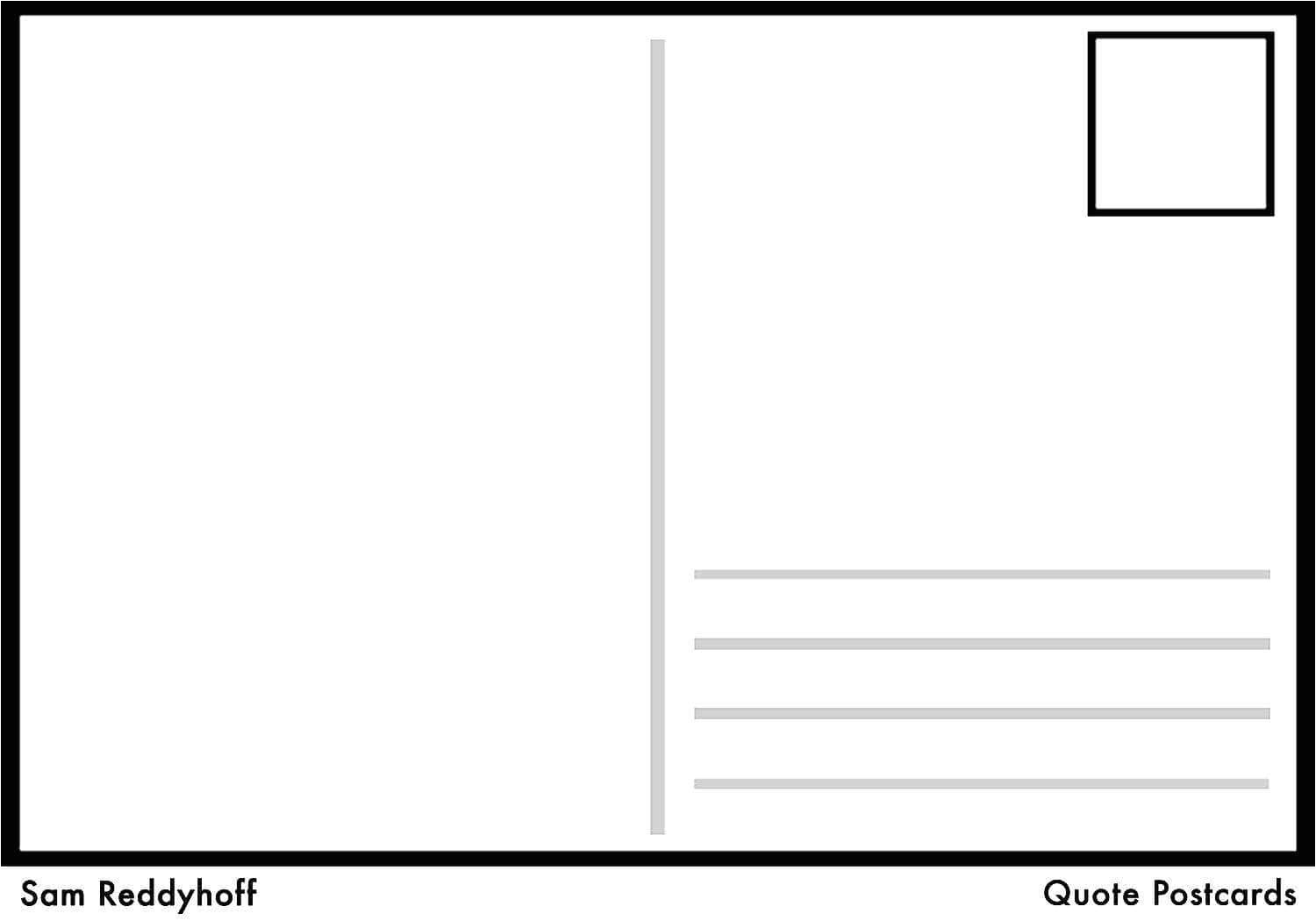 Avery Post Card Template 4 Per Page Template Word and Avery Postcards 2 Per Page
