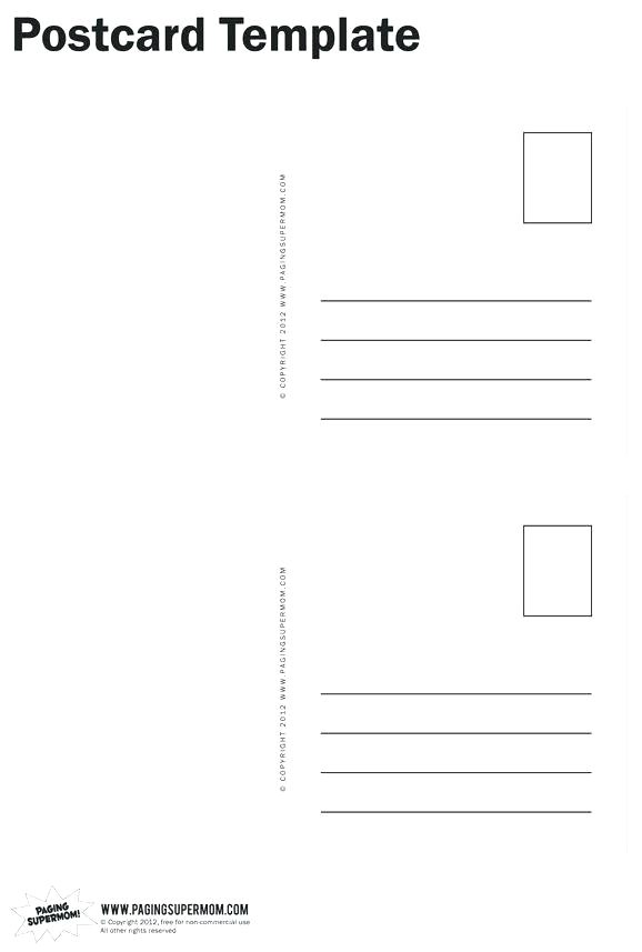 avery postcard template 4 per sheet