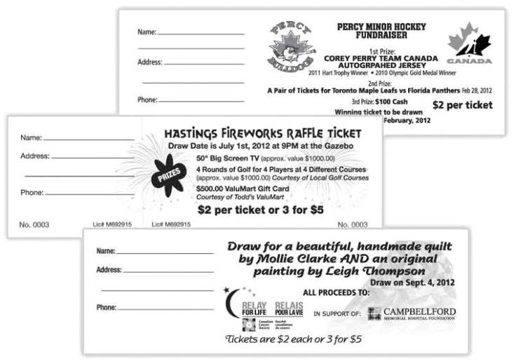 avery raffle ticket template