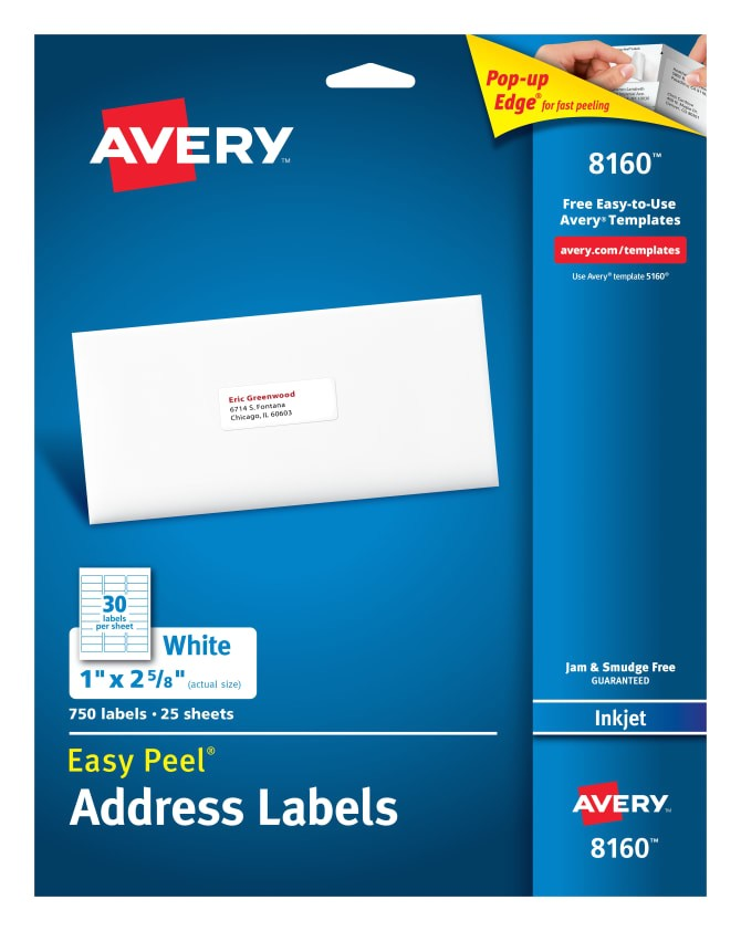 Avery Product Label Templates Avery Product Label Templates Made by Creative Label