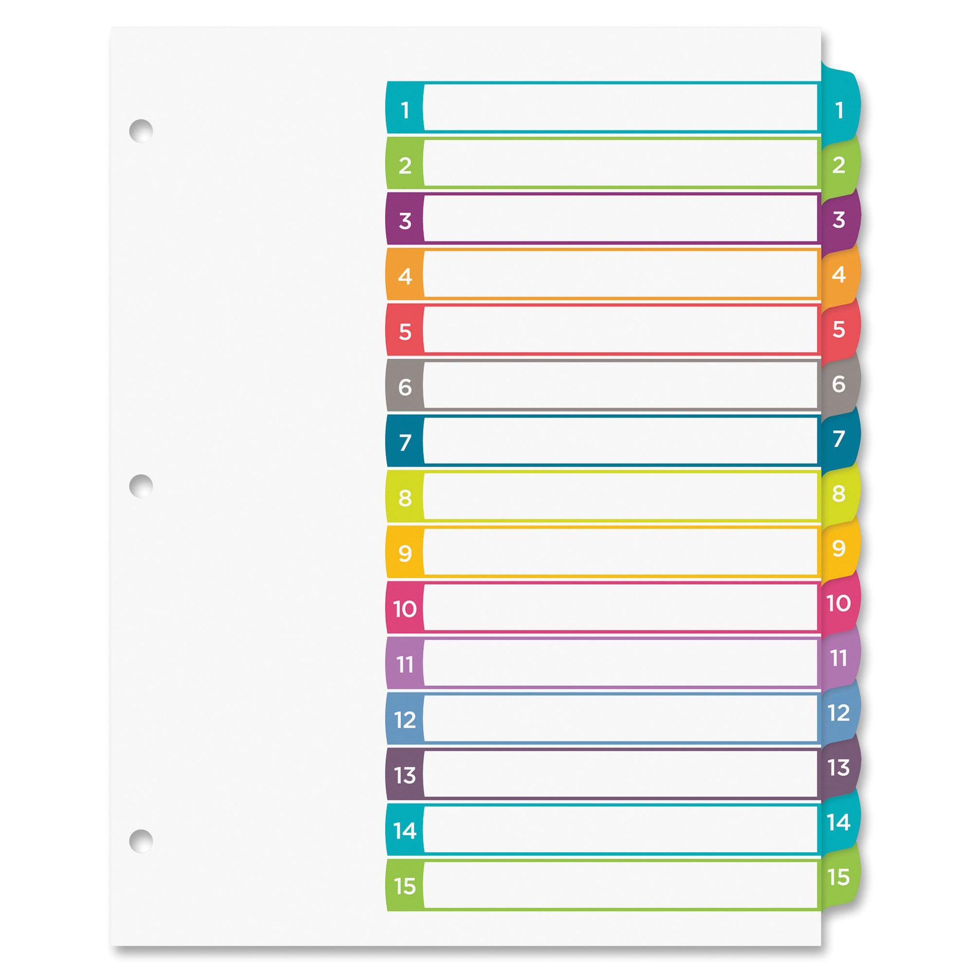 ave11845 avery 11845 ready index table of contents dividers