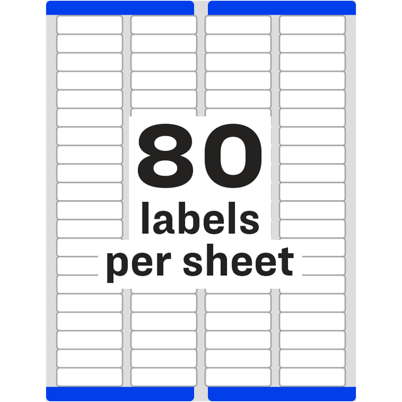avery return address label ave18167 bulk