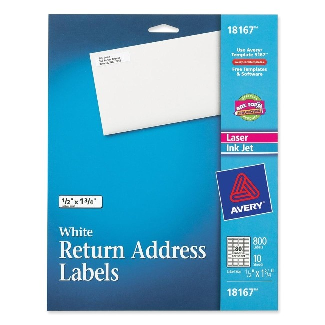 mailing labels ave18167 2171614 prd1