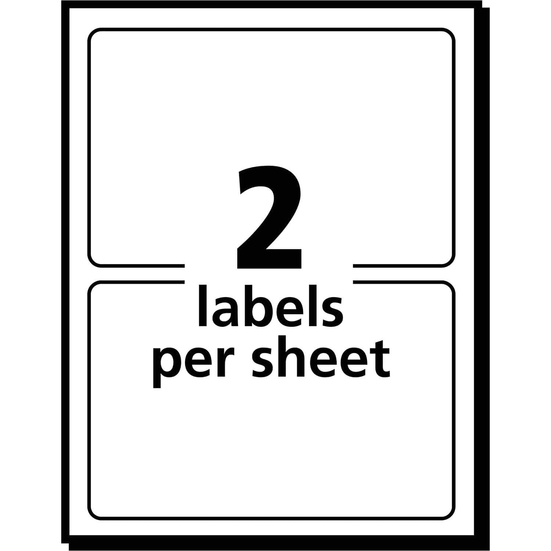 avery return address labels 80 per sheet template