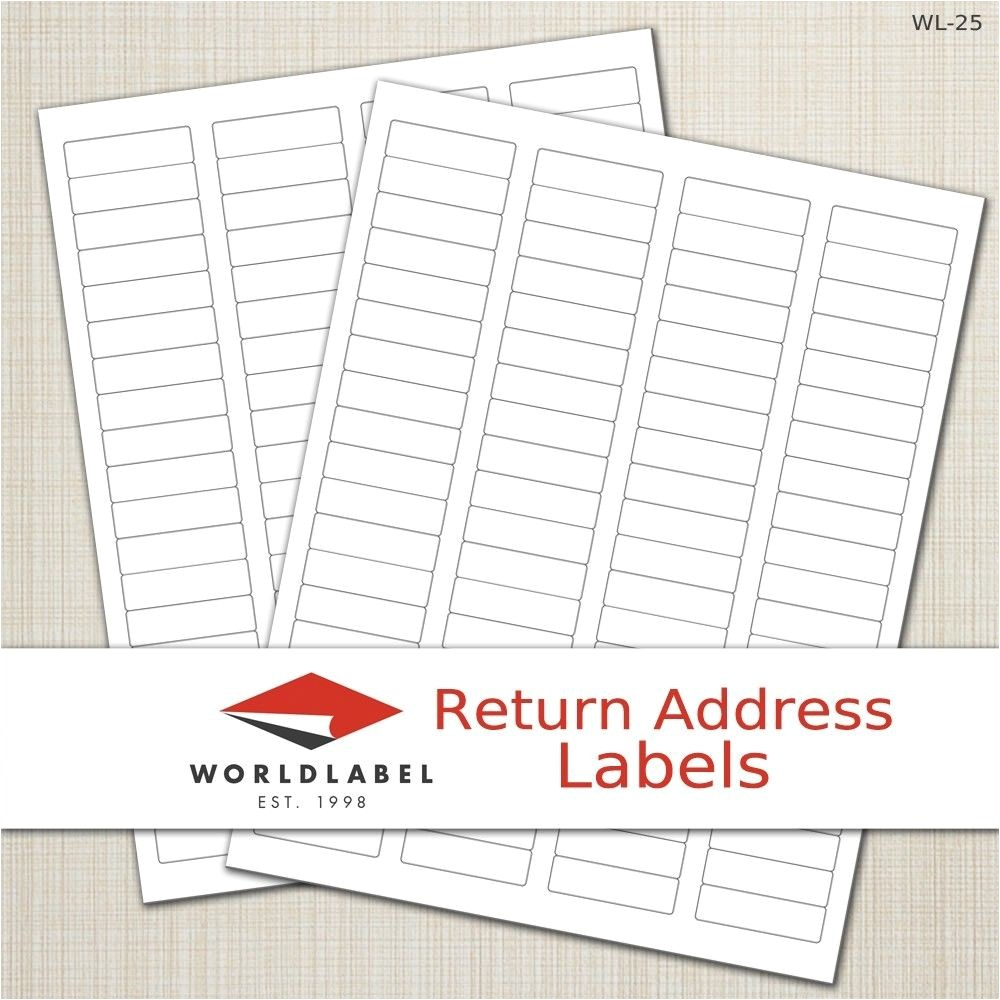 Avery Return Address Template Address Labels Word