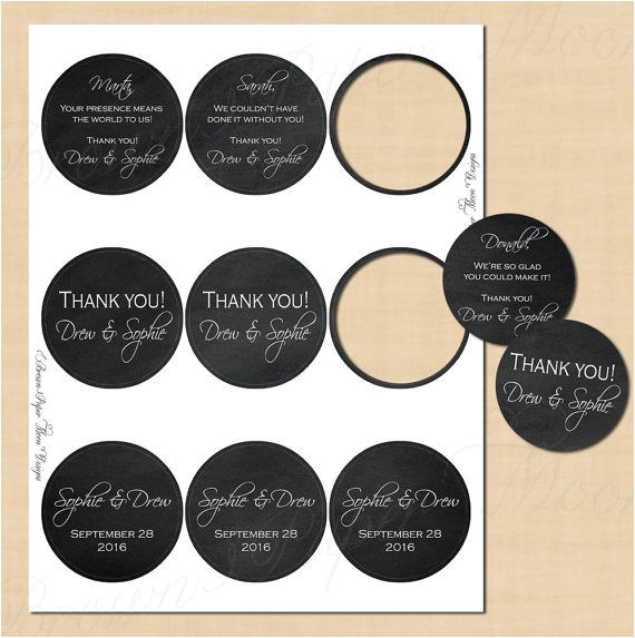 Avery Round Labels 2 Inch Template Chalkboard Round Labels 2 5 Quot Text Editable Printable