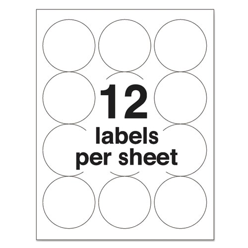 Avery Round Labels 2 Inch Template Template Avery 5294