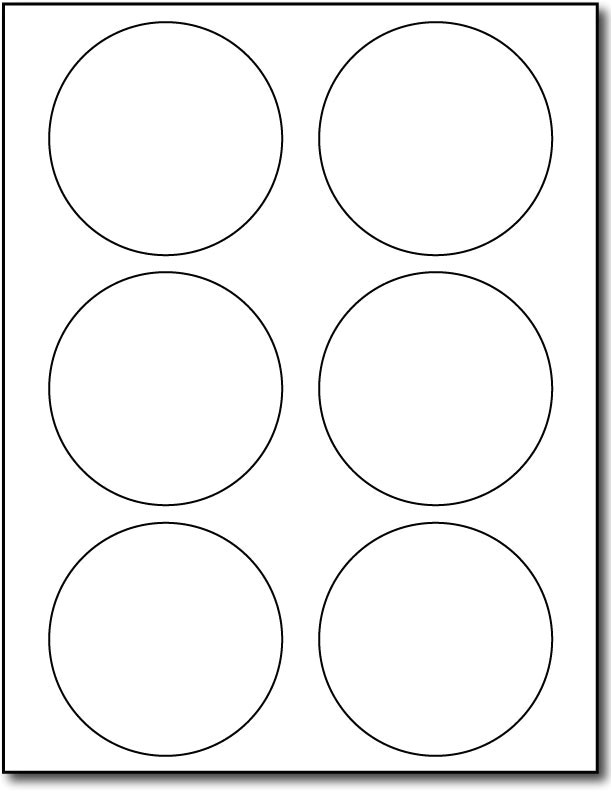Avery Round Sticker Template 3 1 3 Round Label Template Templates Resume Examples