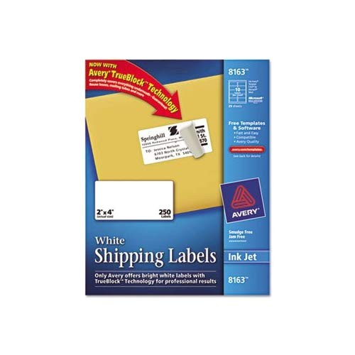 Avery Shipping Label Template 8163 Avery 8163