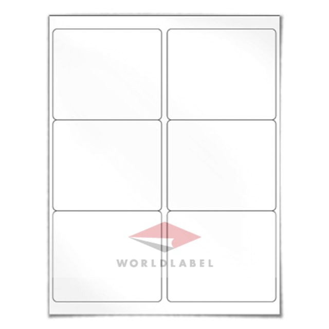 Avery Shipping Label Template 8164 600 Labels 4 X 3 33 Quot Blank Shipping Labels Uses Avery