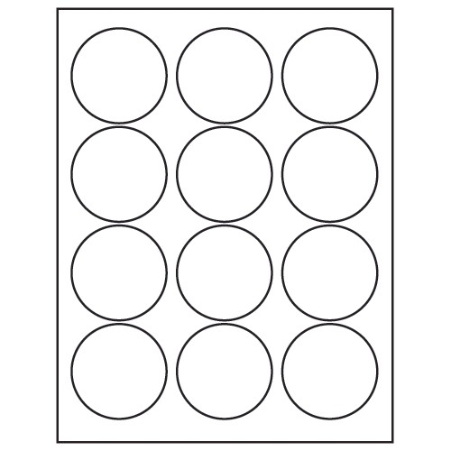 Avery Sticker Templates Circle Template Avery 5294