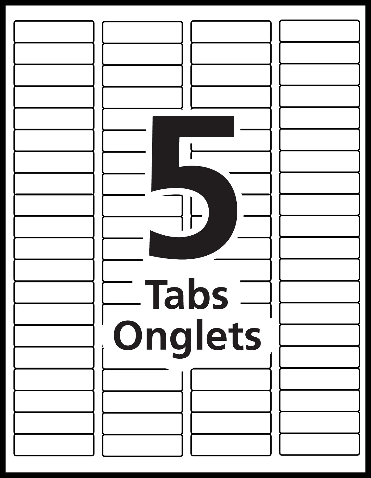 index maker dividers templates limit all