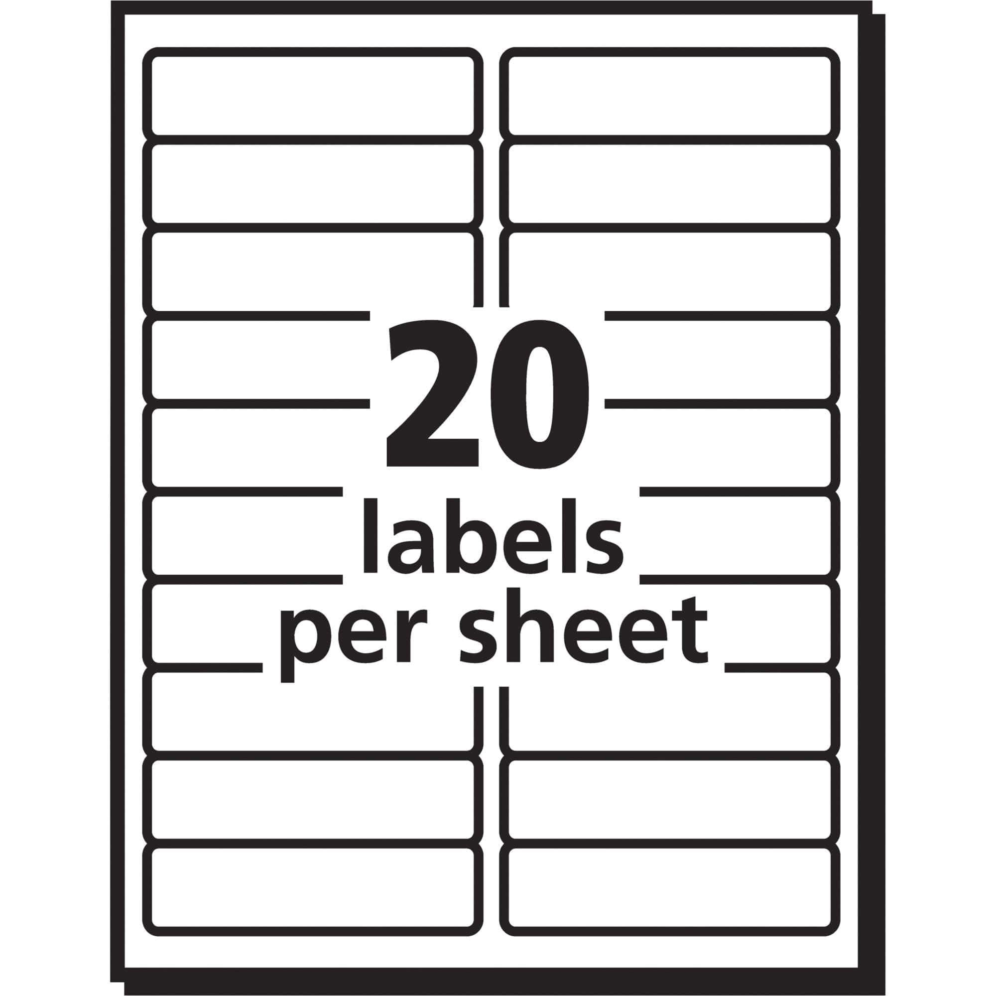 Avery Template Labels 5160 Labels by the Sheet Templates and Avery Address Labels