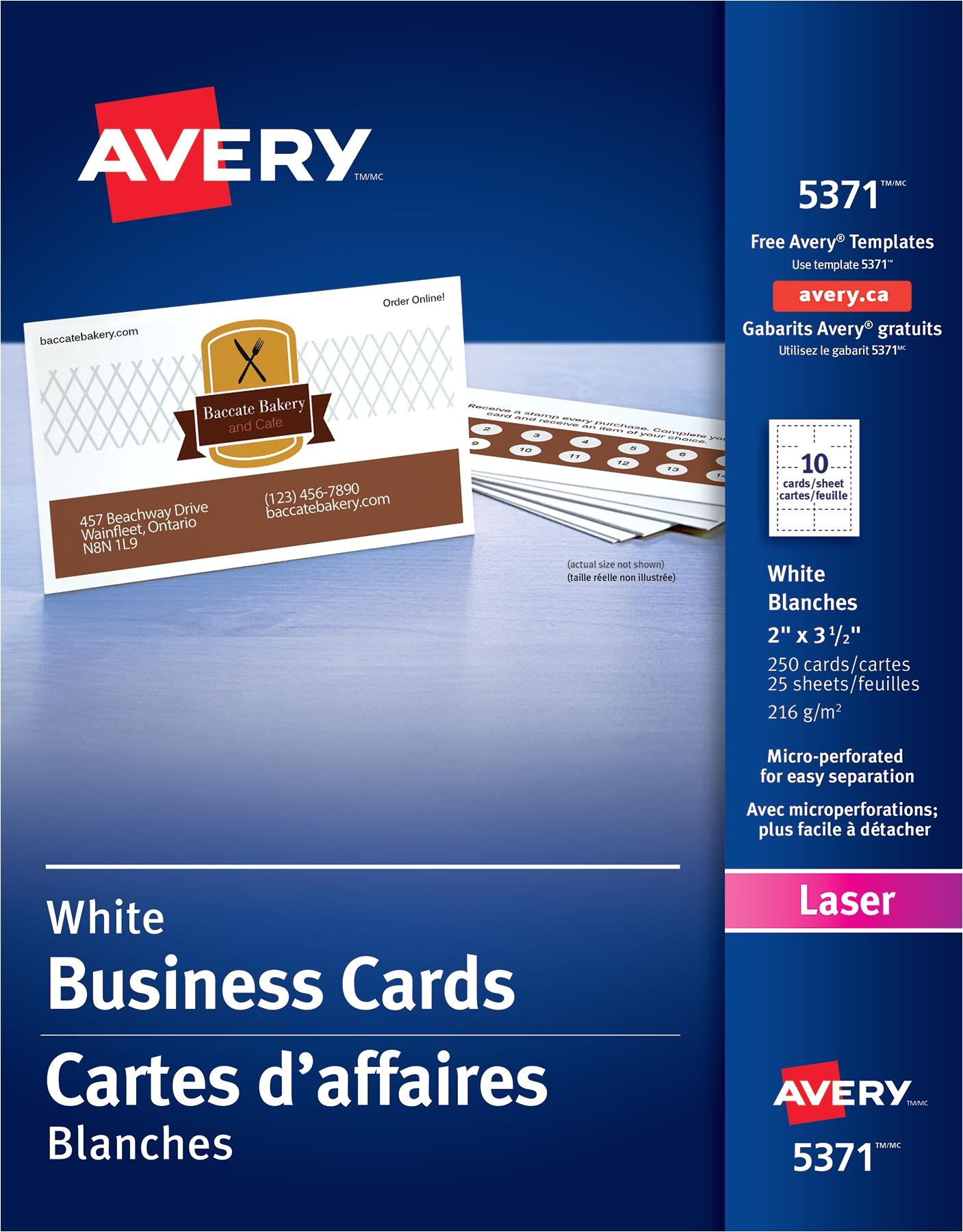 Avery Templates 5371 Business Cards Card Avery 5371 Business Card Template