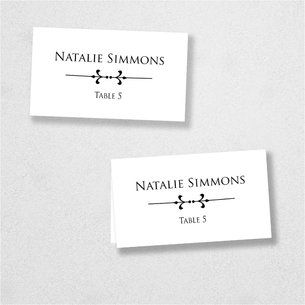 Avery Templates Place Cards Avery Place Card Template Instant Download Escort Card