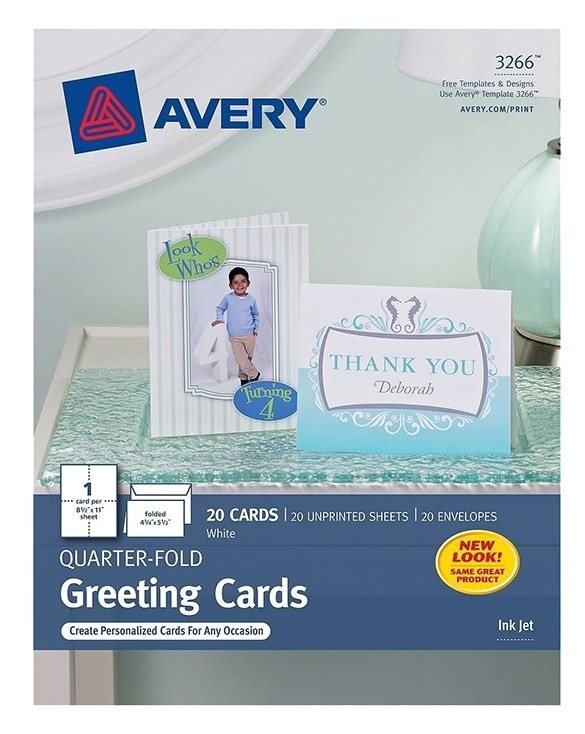 Avery Thank You Card Template Avery Thank You Card Template Resume Builder