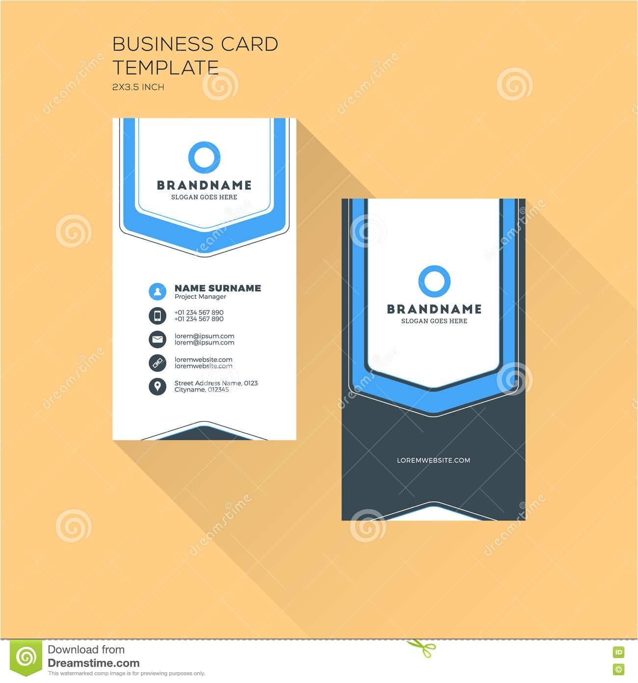 Avery Vertical Business Card Template Business Card Template Horizontal Gallery Card Design
