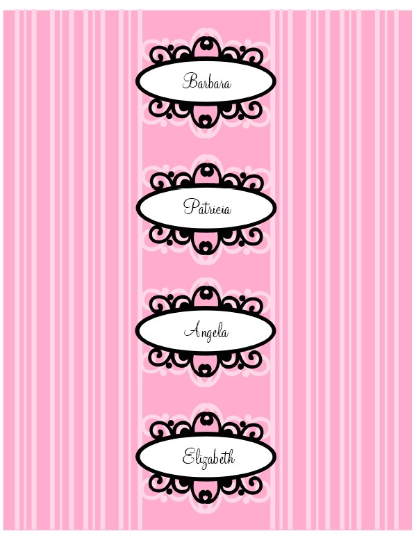 Avery Water Bottle Label Template Diva Water Bottle Labels Printable Free