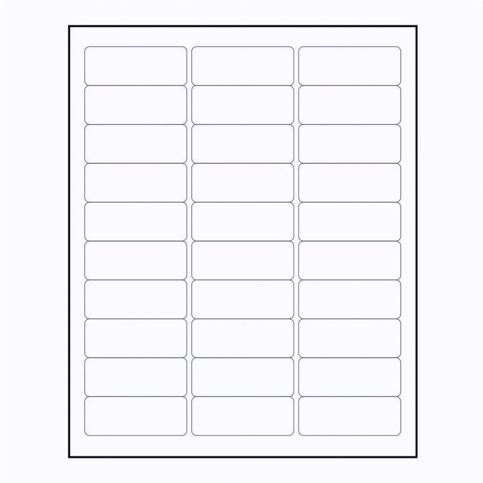 free avery label template 5160 word