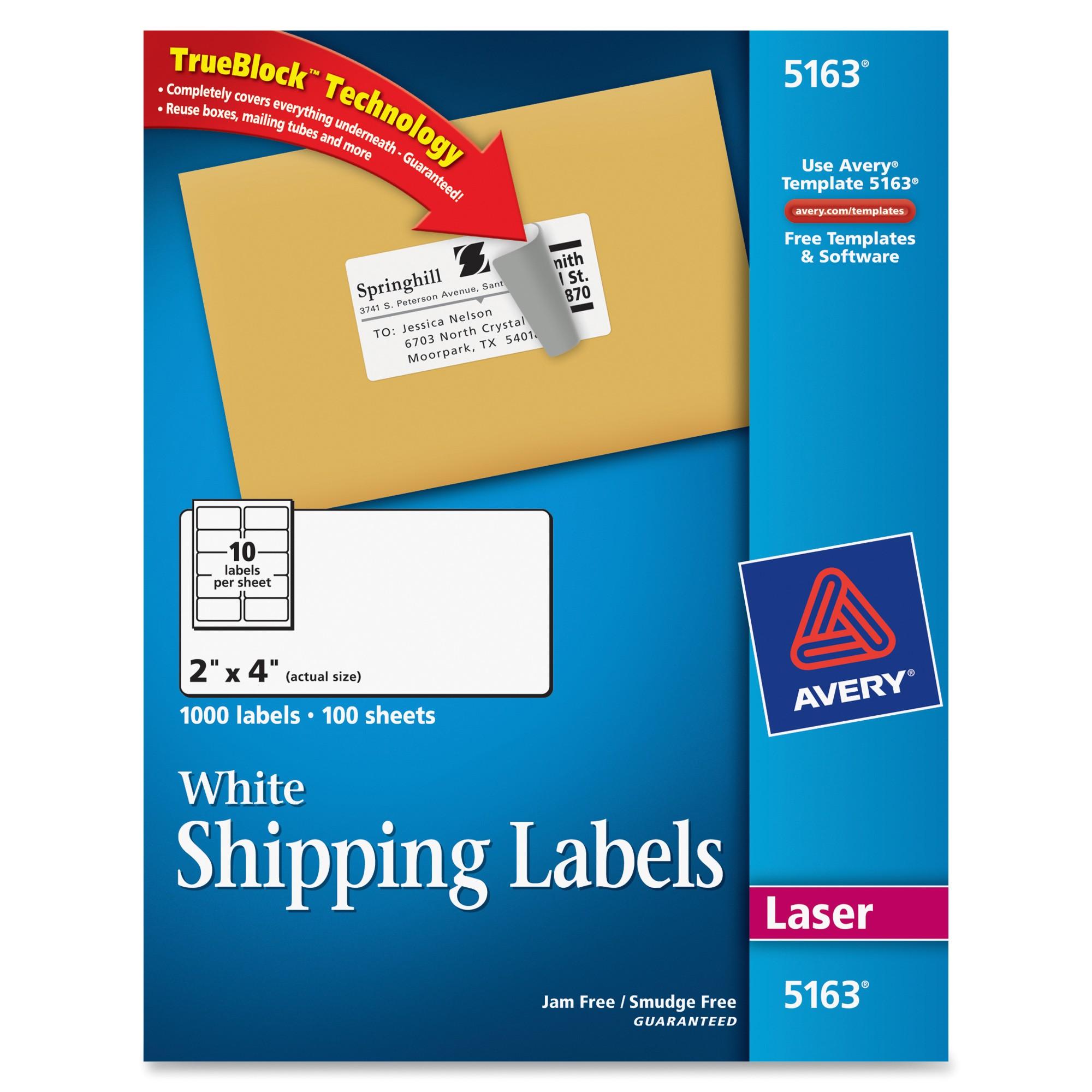 ave5163 avery 5163 easy peel address label
