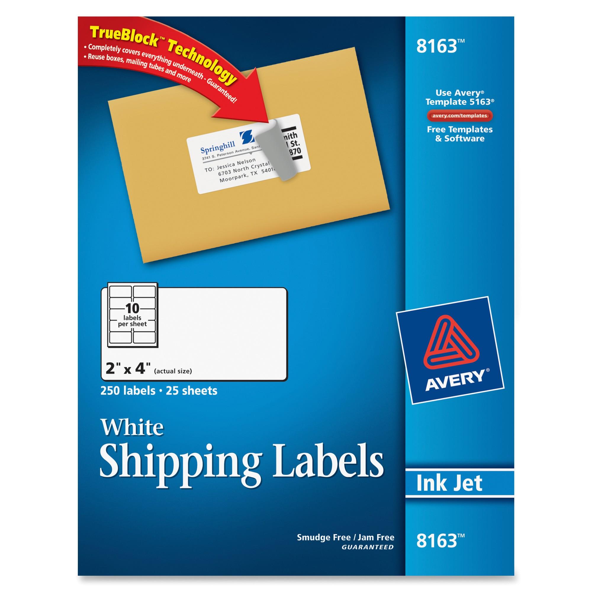 ave8163 avery 8163 address label