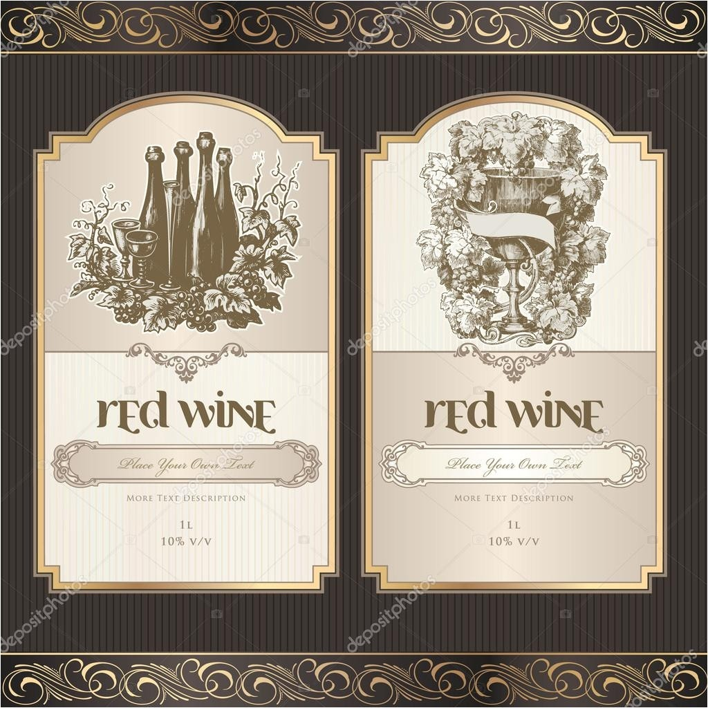 Avery Wine Label Template Best Photos Of Template Of Labels Free Label Template