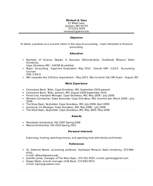 Bank Teller Resume Templates No Experience Bank Teller Resume Template 5 Free Word Excel Pdf