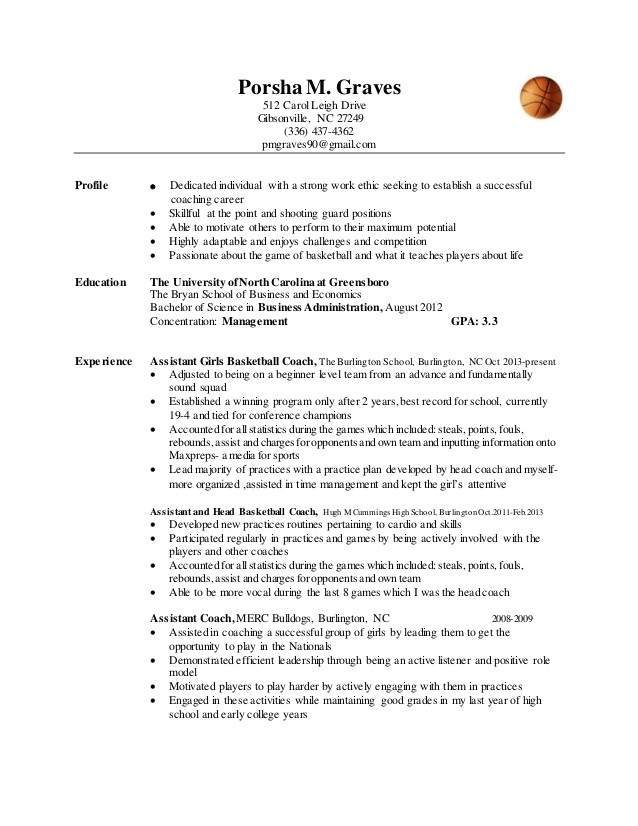 porshas basketball resume 50210769