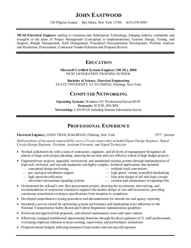 Best Resume Samples Sample Resumes Information Technology or It Resume