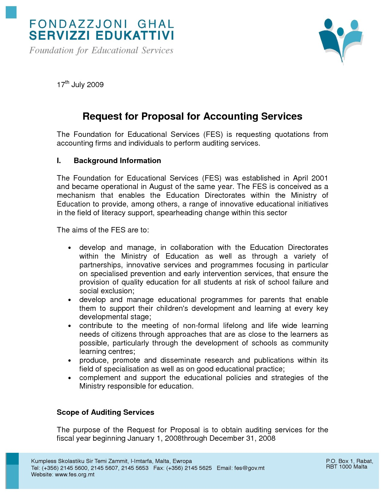 8 proposal for services