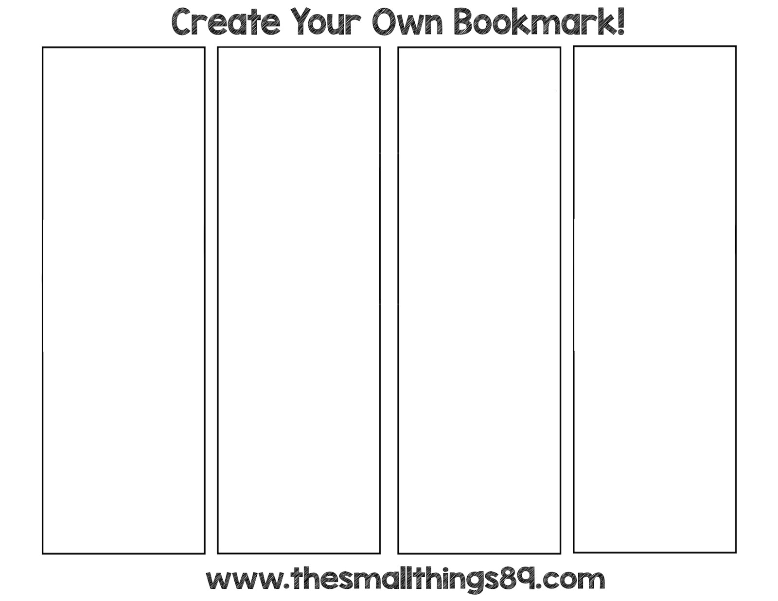 Bookmark Template Avery Template Avery